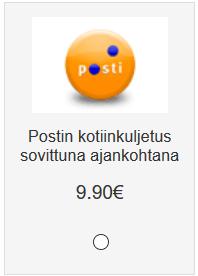 postin_kotiinkuljetussovittunaajankohtana
